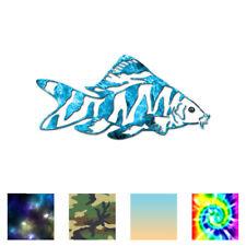 Zebra Loach Fish - Vinyl Decal Sticker - Multiple Patterns & Sizes - ebn3711