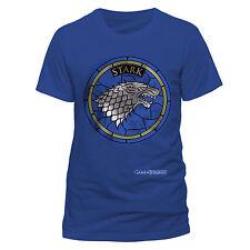 Oficial Game Of Thrones-Stark logotipo Ventana De Vidrio-Para Hombre Blue de Superdry