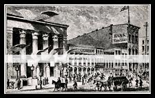 BOWERY THEATRE 1863-rpt Atlantic Garden CHINATOWN NYC Bayard Canal St NY MATTED