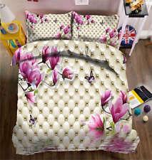 Lavender Lilac 3D Printing Duvet Quilt Doona Covers Pillow Case Bedding Sets