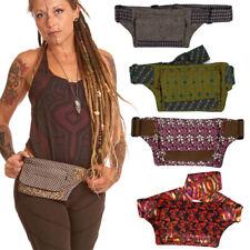 Boho Pocket Travel Waist Belt, Festival Hippy Purse Hippy Psy Bumbag Fanny Pack