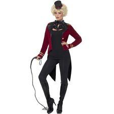 Circus Director Costume Ladies Animal Designer Lion Tamer Fancy Dress