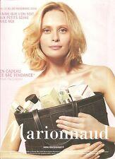 PUBLICITE MARIONNAUD Aux petits Soins avec Moi 2006