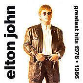 Greatest Hits 1976-1986 by Elton John (CD, Nov-1992, Island/Mercury) New SS
