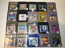 Nintendo Game Boy Classic (color) Spiele - über 100 zur Auswahl