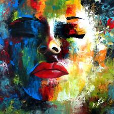 Bild auf Leinwand Abstrakt Kunst Bilder Wandbilder Kunstdruck Dekobilder D0035