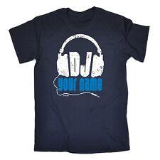 Personalised DJ Any Name T-SHIRT club disc jockey music mobile birthday gift