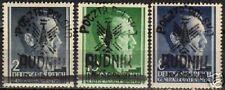 Poland/Local Rudnik 1944 MI I-III signed MNH VF