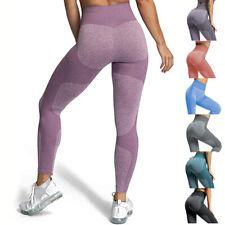 Damen Leggings Push up Stretch Yoga Gym Fitness Hose Sport Jogginghose Leggins