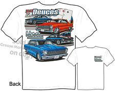 Nova T Shirts 62 63 64 65 66 67 68 69 Chevy Tshirt Lil Deuces Tee M L XL 2XL 3XL