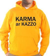Felpa Con Cappuccio KJ2299 Karma ar Kazzo Oh Buddha Supreme Street Tumblr