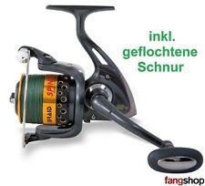 Angelrolle Lineaeffe Braid Spinn FD 30 40 50 inkl. geflochtener Schnur