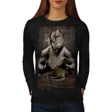 Bulldog Gym Workout Sport Women Long Sleeve T-shirt NEW | Wellcoda