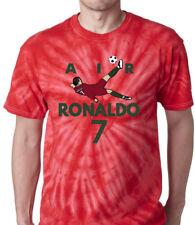 "Tie-Dye Cristiano Ronaldo Real Madrid ""Air Ronaldo PIC""  T-Shirt"
