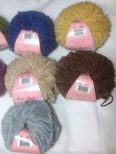 Louisa Harding Nerissa 100% Cotton Chenille Yarn Loom Knit Crochet FS