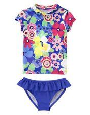 NWT Gymboree Swim Shop Floral Rash Guard 5 6 7 8 10 12 Swimsuit