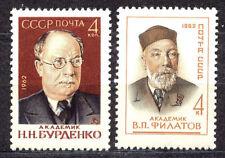 RUSSIA SU 1962 **MNH SC#2658/59 N.BURDENKO, V. FILATOV
