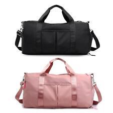 Women Men Nylon Travel Bag Weekender Gym Sport Luggage Messenger Large Handbag