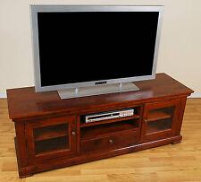 Solid Oak HD Plasma TV Stand Entertainment Center NEW!