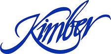 Kimber Firearms High Quality Oracal Vinyl Decal Vinyl Art Gun Safe Stencil NRA