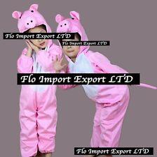 Maialino Rosa Vestito Carnevale Maschera Pig Cosplay Children Dress up PIG001