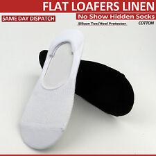 Women Hidden Low Cut Babet Socks No Show Socks Non-Slip Flat Loafer Liners