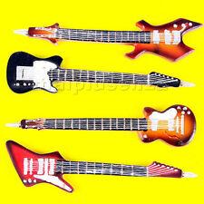 Penna a sfera a forma di CHITARRA Rock 16/17 cm - Guitar Hero stilo
