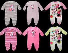 Schlafanzug Minnie Strampler Overall Disney Nicki Nikki 62 68 74 80 86 92 NEU