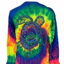 Southern Attitude Tortuga Moon Turtle Tie Dye T-Shirt
