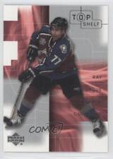 2001 Upper Deck Top Shelf #10 Raymond Bourque Colorado Avalanche Ray Hockey Card