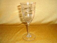 Mundgeblasenes Weinglas - Kristall mit Traubenschliff - mehrere verfügbar