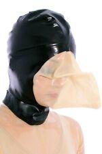 722 Latex Rubber Gummi breathing bag Mask Hood customized catsuit 0.4mm clubwear