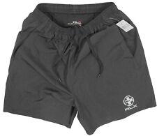 NEW Ralph Lauren RLX Running (Athletic) Shorts!  Green Black Orange *RLX Emblem*