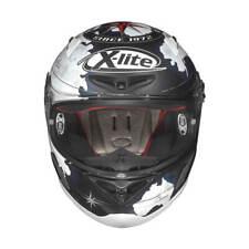 X-Lite x-802r replica C. checa casco integral motocicleta interconexión fibra-negro mate