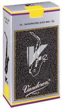 Cañas Vandoren V12 Alto SAXO Saxofón-Caja de 10-varios puntos fuertes