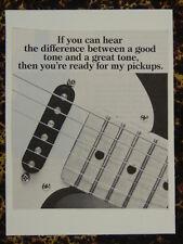 f/ handmade greetings card with music theme SEYMOUR DUNCAN GUITAR PICKUPS