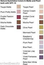 Bella Mari Natural Mineral Botanical Eyeshadow Powder