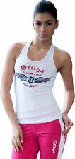 Stilya sportswear company Lady sport top yoga fitness t-top complet * 5714 * Blanc