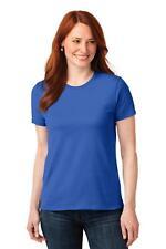 Port & Company T-Shirt LPC55 Ladies 50/50 Cotton/Poly NEW