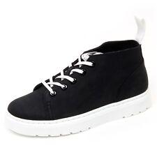 D1634 sneaker donna DR. MARTENS BAYNES scarpe nero shoe woman