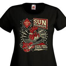 T-shirt femme SUN Records Rock'n'Roll Since 1952  Memphis Tennessee  Rockabilly