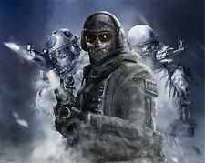 Cosplay Modern Warfare2 Task Force 141 Ghost battle Jacket New