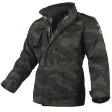 Surplus Uitstekende Stijl Militair M65 Regiment Heren Jacket Liner Zwart Camo S-