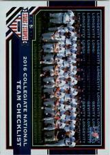 2017 USA Baseball Stars and Stripes Longevity Parallel Baseball Card Pick