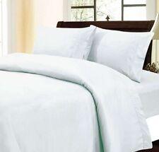 White Solid 4 pc Sheet Set Extra Deep Pocket 1000TC Egyptian Cotton All Size