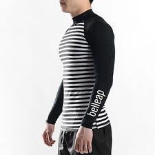 Belleap Rash Guard Mens Compression Long Sleeve Swimwear UV Protection 0505 UK