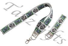 English Setter Breed of Dog Matching Lanyard | Keyring Key Ring | Bookmark