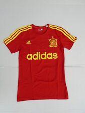 Adidas Originals Camiseta T-shirt Algodón XS S L XL ESPAÑA rojo NUEVO