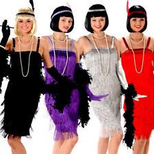 Flapper Ladies Fancy Dress Jazz Charleston 20s 1920s Womens Adults Costumes New