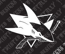 San Jose Sharks car truck vinyl decal sticker NHL Hockey Sanjose